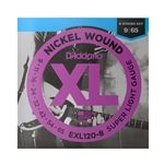 D'Addario 8-String Nickel Wound Electric Guitar Strings, Super Light
