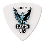 Clayton Rounded Triangle Picks, .50, 12 Pack