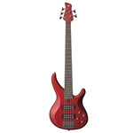 Yamaha TRBX305CAR 5-String Bass Guitar, Candy Apple Red