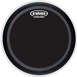 Evans EMAD Onyx Bass Drum Head, 22""