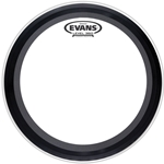 Evans BD24EMAD2 EMAD2 Clear Bass Drum Head, 24""