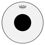 Remo Controlled Sound Clear, Black Dot, Drum Head 12""