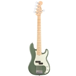 Fender American Professional Precision Bass V, Antique Olive