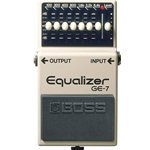Boss GE-7 7-Band Graphic Equalizer Guitar Pedal