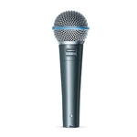 BETA 58A Shure Supercardioid Dynamic Microphone