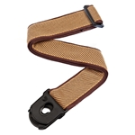 Planet Waves 50PLB06 Planet Lock Guitar Strap, Tweed