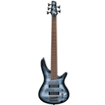 Ibanez SR305EBPM 5-string Bass Guitar, Black Planet Matte