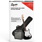 Squier Stratocaster Pack SSS, Black