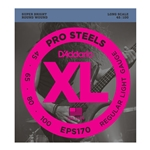 EPS170 D'Addario ProSteels Bass Guitar Strings Light, Long Scale