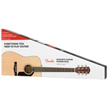 Fender CD-60S Acoustic Pack V2, Natural