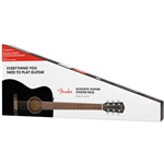 Fender CC-60S Acoustic Pack V2, Black