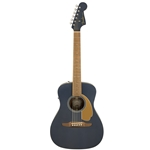 Fender Malibu Player Acoustic Electric Guitar, Midnight Satin