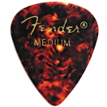 Fender 351 Premium Picks, Medium, Classic Shell, 12 pk