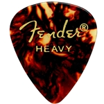 Fender 351 Premium Picks, Heavy, Classic Shell, 12 pk