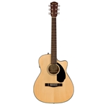 Fender CC-60SCE Acoustic Electric Guitar, Natural