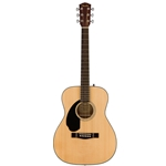 Fender CC-60S Acoustic Guitar, Left-Handed, Natural
