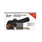 Squier Affinity Precision Bass PJ Pack, Brown Sunburst
