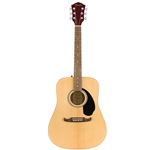 Fender FA-125 Dreadnaught with Bag, Natural