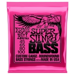 Ernie Ball 2834 Super Slinky Nickel Wound Bass Guitar Strings