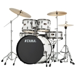 Tama Imperialstar 5pc Drum Kit, Sugar White