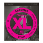 D'Addario ECB81 Chromes Bass Guitar Strings, Light, Long Scale