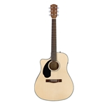 Fender CD-60SCE, Left Handed, Natural
