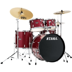 Tama Imperialstar 5pc Drum Kit, Candy Apple Mist