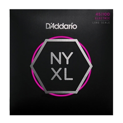 D'Addario NYXL45100 Nickel Wound Bass Strings Regular, Light
