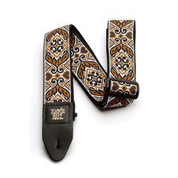 Ernie Ball Jacquard Guitar Strap, Tribal Brown