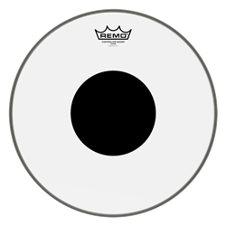 Remo Controlled Sound Clear, Black Dot, Drum Head 14""