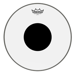 CS-0312-10 Remo Controlled Sound Clear, Black Dot, Drum Head 12""