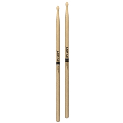 TX5BW ProMark Hickory 5B Wood Tip Drumsticks