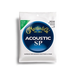 Martin MSP4600 SP 92/8 Phos Bronze 12-String Acoustic Guitar Strings Extra Light