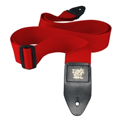 Ernie Ball Polypro Strap, Red