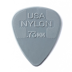 Dunlop Nylon Standard Picks, .73, 12 pk
