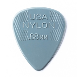 Dunlop Nylon Standard Picks, .88, 12 pk