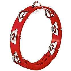 Meinl Headliner Tour Tambourine, 1 Row, Red